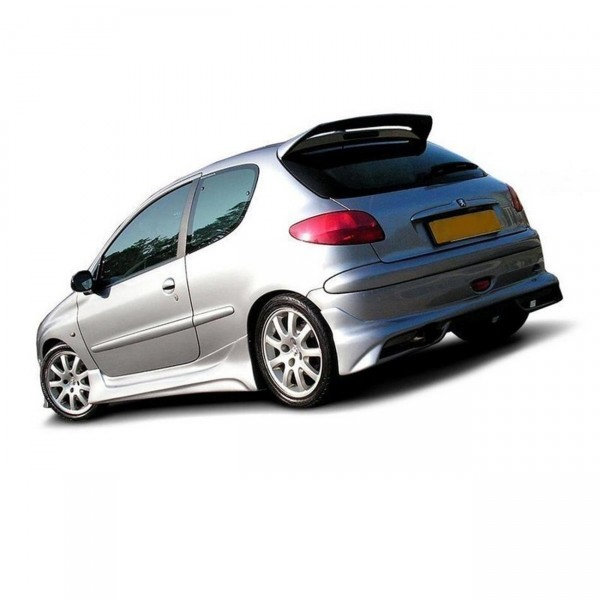 Diffusor Heck Ansatz passend für peugeot 206 (hatchback GTI / S16 / CC)