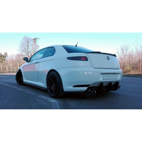 Spoiler CAP passend für Alfa Romeo GT schwarz Hochglanz