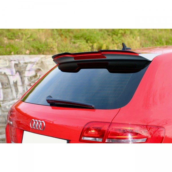 Spoiler CAP passend für Audi RS3 8P Carbon Look