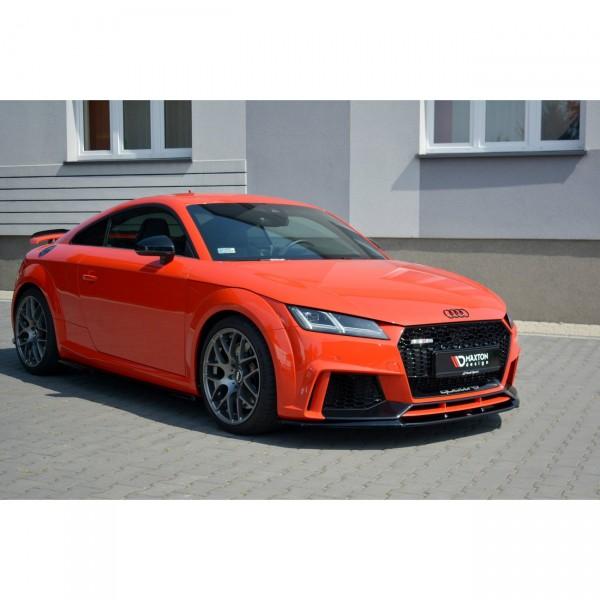 Front Ansatz passend für V.2 Audi TT Mk3 (8S) RS Carbon Look
