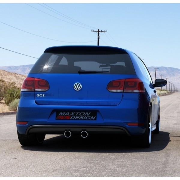 HECKSCHÜRZE VW Golf V R32 Look für VW Golf VI GTI Carbon Look