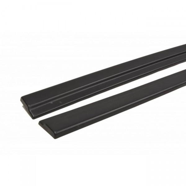 Seitenschweller Ansatz passend für AUDI A7 S-LINE (FACELIFT) schwarz Hochglanz