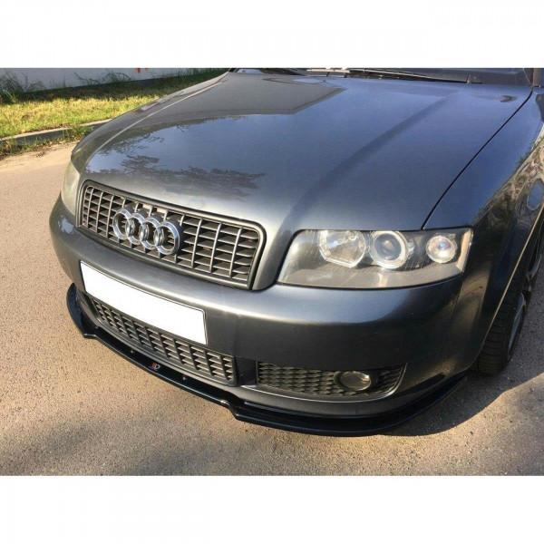 Front Ansatz passend für V.2 Audi A4 B6 S-Line schwarz Hochglanz