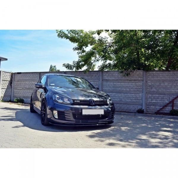 Front Ansatz passend für VER.2 VW GOLF 6 GTI Carbon Look
