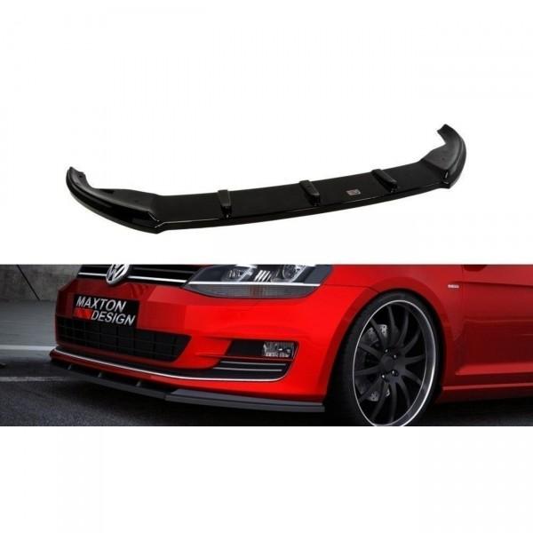 Front Ansatz passend für VW GOLF 7 Carbon Look