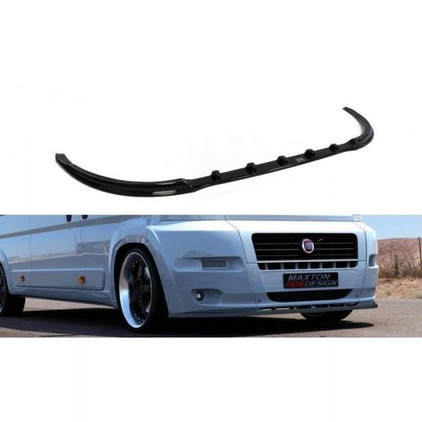 Front Ansatz passend für FIAT DUCATO III (für Serie) schwarz matt
