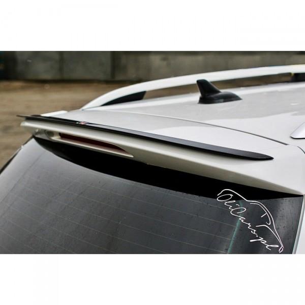 Spoiler CAP passend für Vw Passat B7 R-Line Variant schwarz Hochglanz