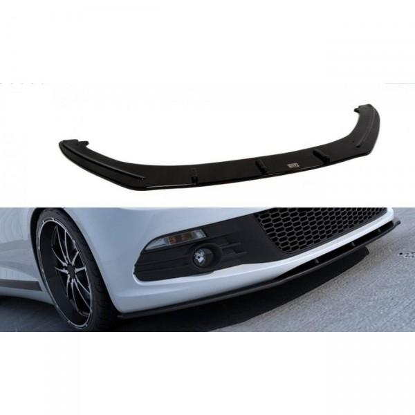Front Ansatz passend für VW SCIROCCO schwarz Hochglanz