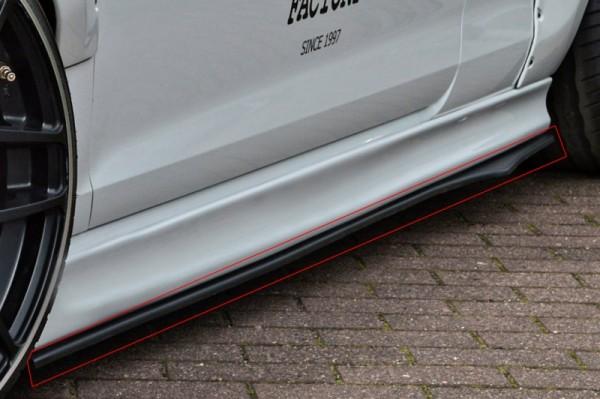 Cup Schweller ABS Hochglanz Schwarz Audi TT RS, TTS, 8J, Coupe + Roadster Ab Bj.