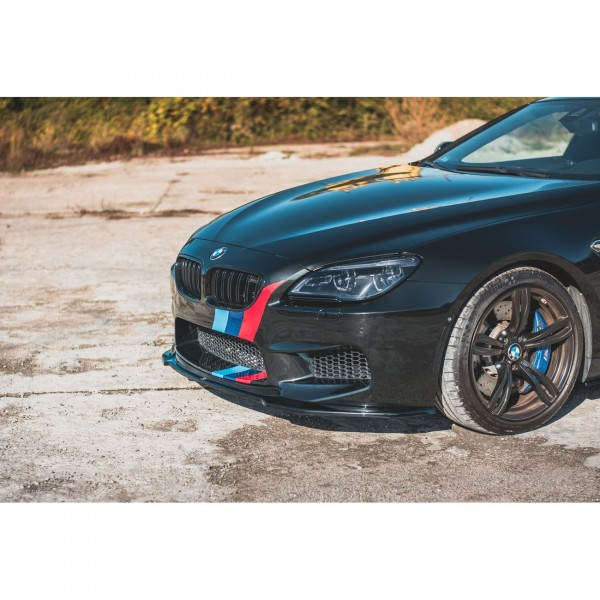 Front Ansatz passend für V.2 BMW M6 F06 Gran Coupe Carbon Look