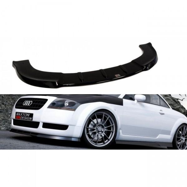 Front Ansatz passend für AUDI TT MK1 für Serie schwarz Hochglanz