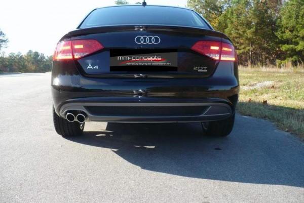 Diffusor für Audi A4 8K B8 Spoiler Diffusor Heckansatz Limousine Avant Gitter