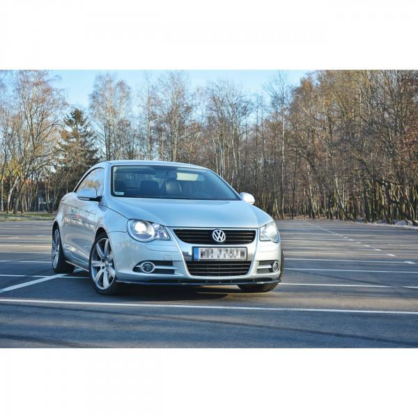 Front Ansatz passend für V.1 VW EOS Carbon Look