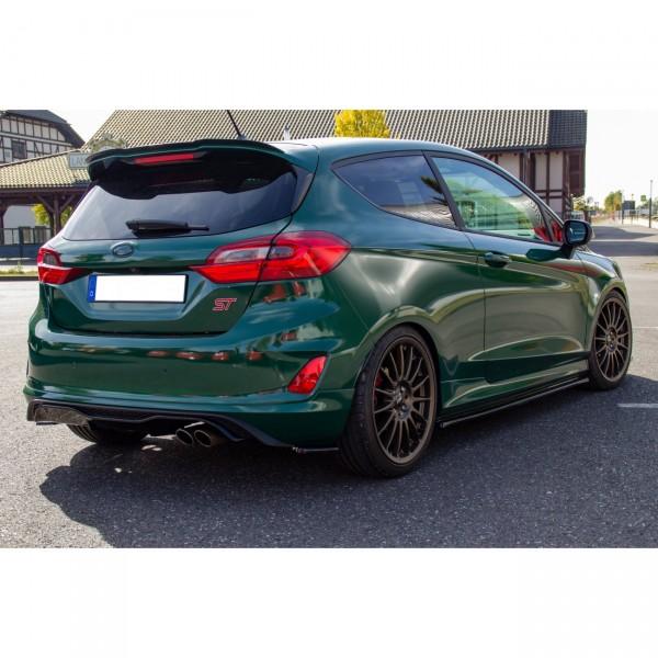 Spoiler CAP passend für Ford Fiesta Mk8 ST/ST-Line schwarz matt