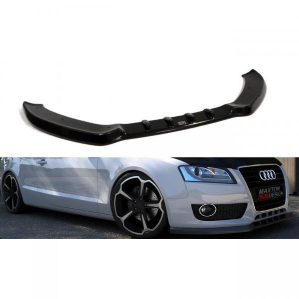 Front Ansatz passend für AUDI A5 8T Carbon Look