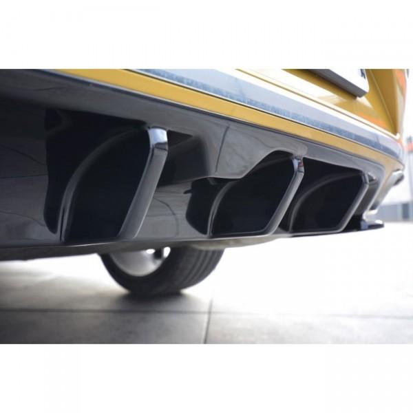 Diffusor Heck Ansatz passend für VW ARTEON Carbon Look
