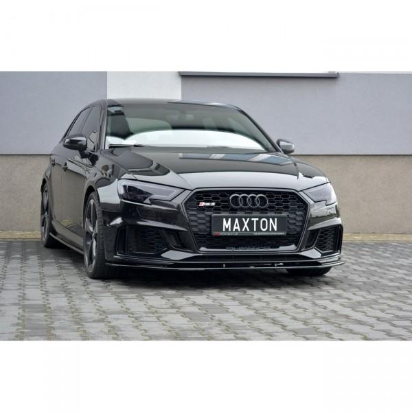 Front Ansatz passend für V.1 AUDI RS3 8V FACELIFT SPORTBACK Carbon Look