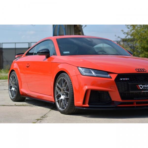 Seitenschweller Ansatz passend für Audi TT Mk3 (8S) RS Carbon Look