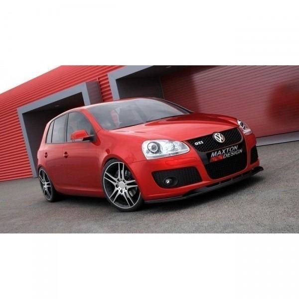 Front Ansatz passend für VW GOLF 5 GTI Carbon Look