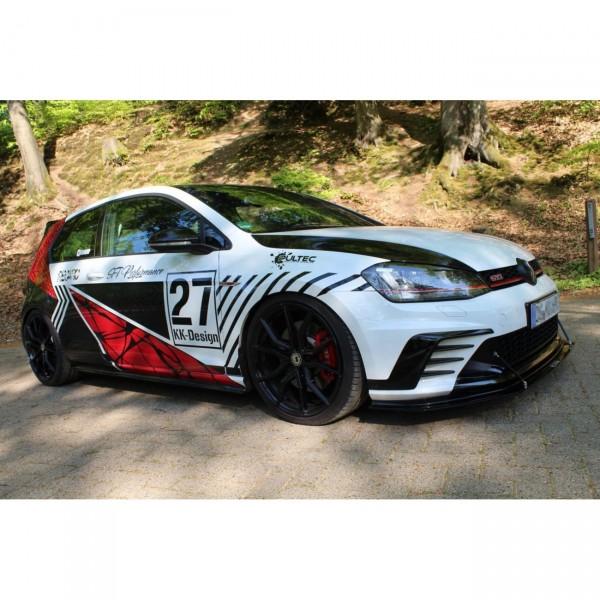 Racing Front Ansatz passend für VW GOLF 7 GTI CLUBSPORT
