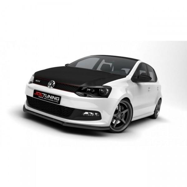 Front Ansatz passend für VW POLO MK5 GTI schwarz matt
