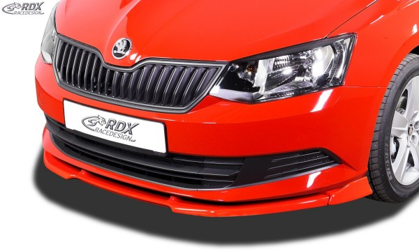 2010 auch f/ür Roomster RDX Frontspoiler VARIO-X Fabia 2 Typ 5J Frontlippe Front Ansatz Vorne Spoilerlippe