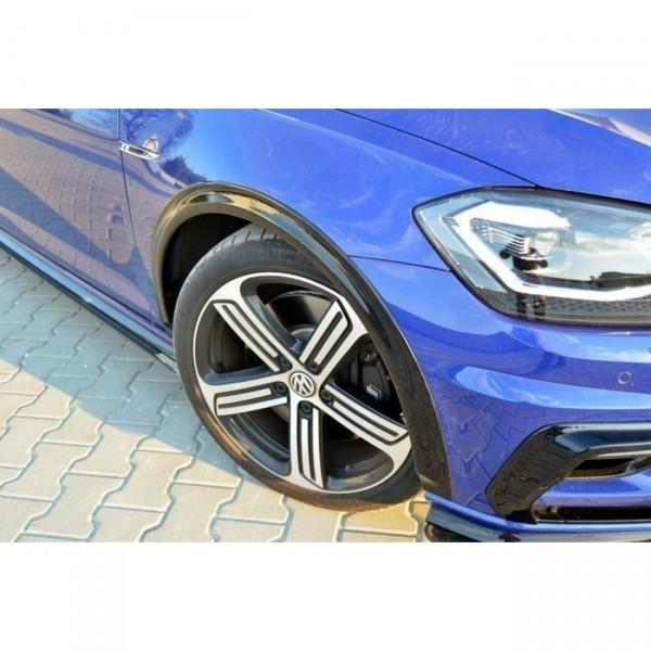 Kotflügel Verbreiterung VW GOLF 7 R Facelift Carbon Look
