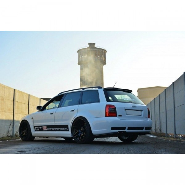 Spoiler CAP passend für AUDI RS4 B5 Carbon Look