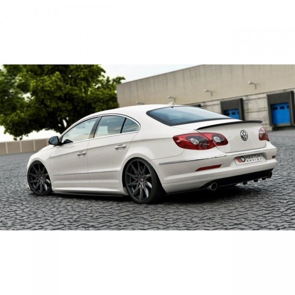 Spoiler CAP passend für VW Passat CC R36 RLINE (vor Facelift) schwarz Hochglanz