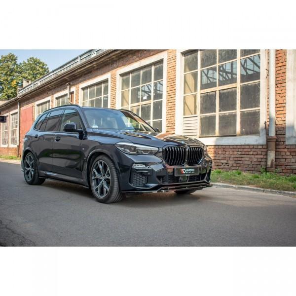 Front Ansatz passend für BMW X5 G05 M Paket schwarz Hochglanz