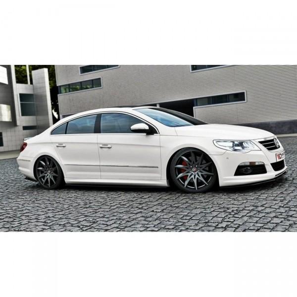 Seitenschweller Ansatz passend für VW Passat CC R36 RLINE (vor Facelift) Carbon Look