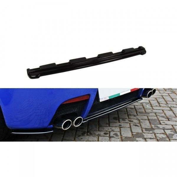 Mittlerer Diffusor Heck Ansatz passend für ALFA ROMEO 147 GTA schwarz Hochglanz