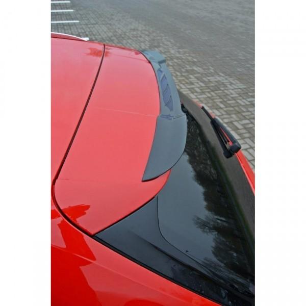 Spoiler CAP passend für Audi A4 B9 S-Line schwarz Hochglanz