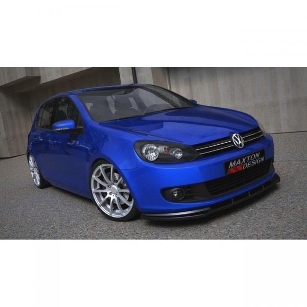 Front Ansatz passend für VW GOLF 6 Carbon Look