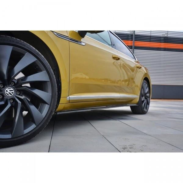 Seitenschweller Ansatz passend für VW ARTEON schwarz Hochglanz