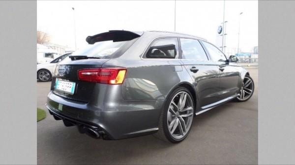 Dachspoiler Heckspoiler für Audi A6 4G C7 Spoiler Dach Kanten Aufsatz RS6 S6