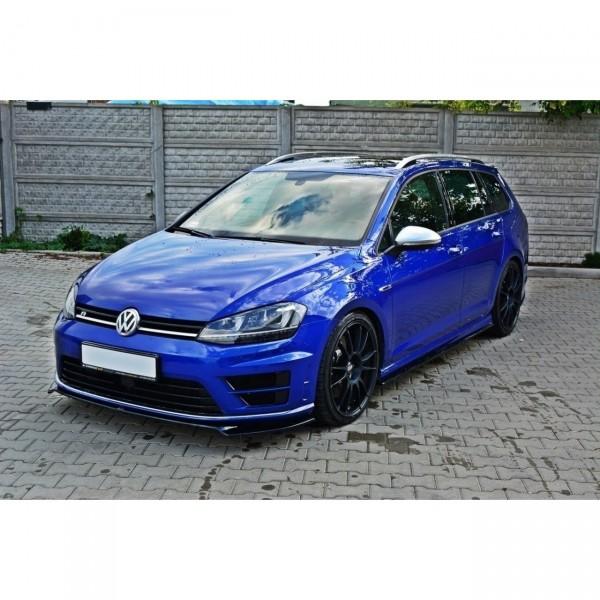 Front Ansatz passend für VW GOLF 7 R Carbon Look