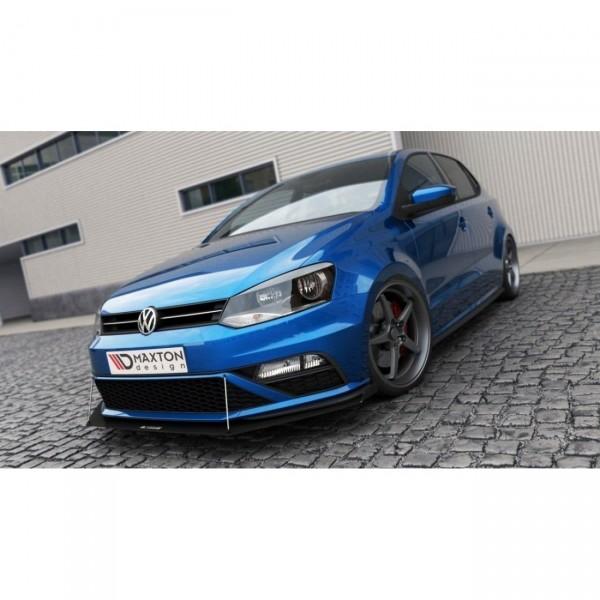 Racing Front Ansatz passend für VW POLO MK5 GTI Facelift mit Wings