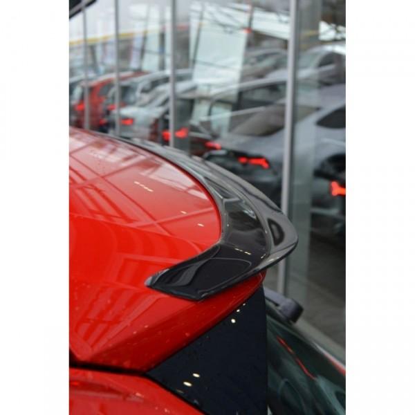 Spoiler CAP passend für Audi Q2 Mk1 schwarz matt