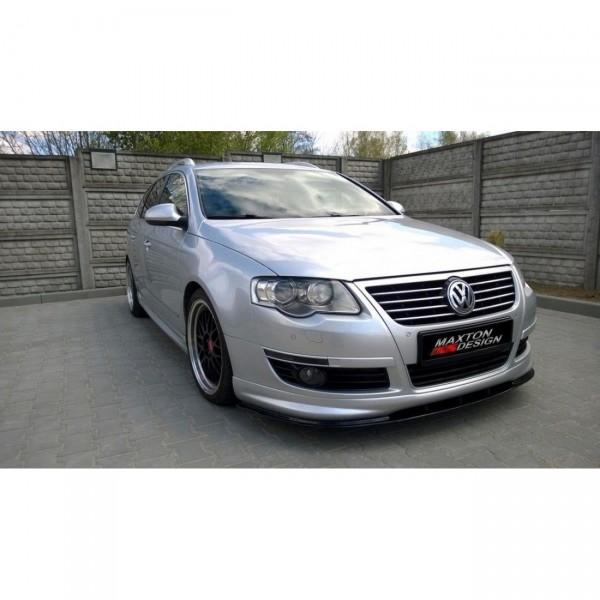 Front Ansatz passend für VW PASSAT B6 R-LINE Carbon Look
