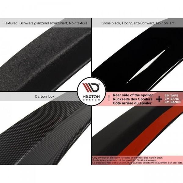 Spoiler CAP passend für AUDI A4 B7 Carbon Look