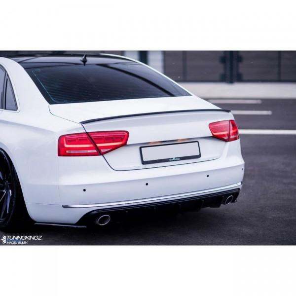 Spoiler CAP passend für Audi A8 D4 Carbon Look