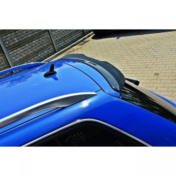 Spoiler CAP passend für AUDI S4 B6 Avant schwarz Hochglanz