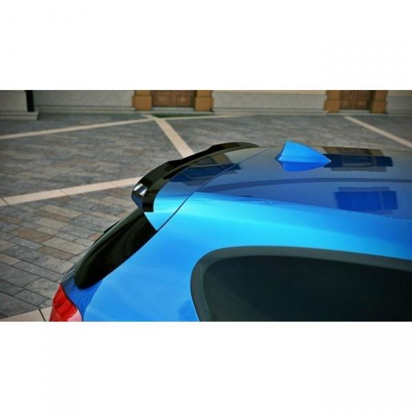 Spoiler CAP passend für BMW 1er F20/F21 M-Power schwarz matt