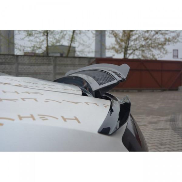 Spoiler CAP passend für AUDI R8 2006 - 2015 schwarz matt