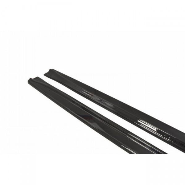 Seitenschweller Ansatz passend für CITROEN DS5 FACELIFT, PREFACE schwarz Hochglanz