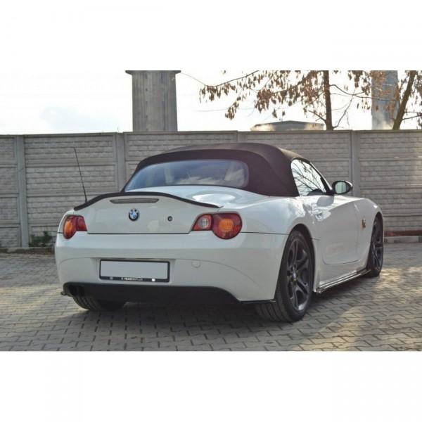 Spoiler CAP passend für BMW Z4 E85 vor Facelift schwarz matt