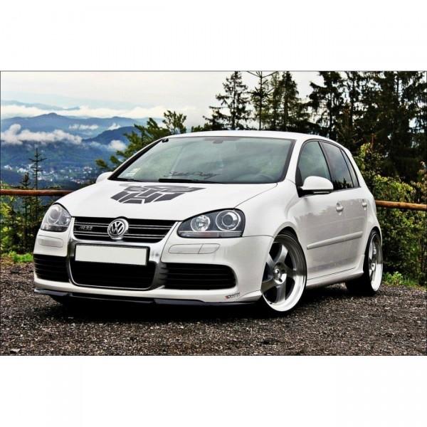 Front Ansatz passend für VW GOLF 5 R32 CUPRA schwarz Hochglanz