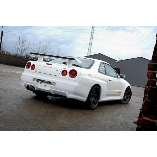 Heck Stoßstange Heckschürze passend für Nissan Skyline R34 GTR GTR Look