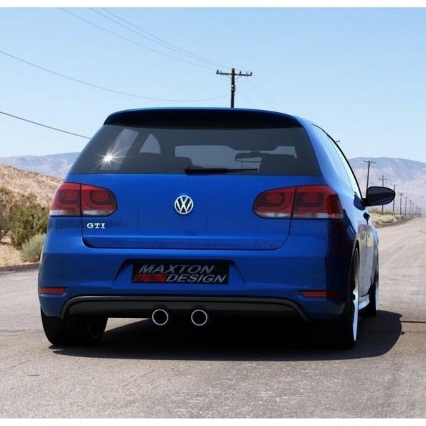 Heckschürze passend für VW Golf V R32 Look für VW Golf VI GTI schwarz matt